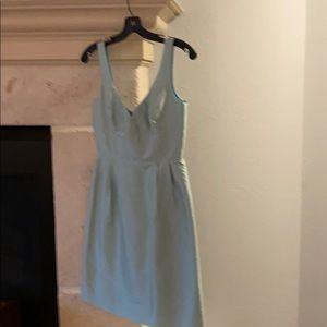 J Crew bridesmaids dress sz 2 100% silk